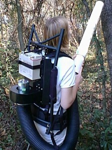 Modified CDC Backpack Aspirator