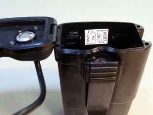 The Model 1.50 Holder for 4 D-Cell Batteries.